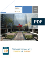 Siemens U - Course Catalog 2014