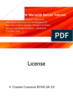 The Complete MariaDB Server Tutorial Amsterdam 2016