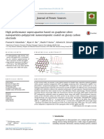 2015 High Performance Supercapacitor Based on Graphene-silver Nanoparticles-polypyrrole Nanocomposite