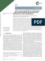 2014 Graphene–Silver Nanohybrids for Ultrasensitive Surface Enhanced Raman Spectroscopy