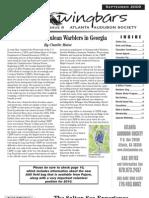 September 2009 Wingbars Newsletter Atlanta Audubon Society