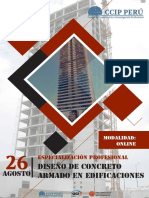 Brochure Diseno de Concreto Armado en Edificaciones