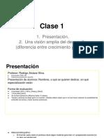 Clase 1. Diferencia Crecimiento-Desarrollo