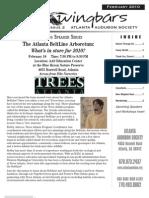 February 2010 Wingbars Newsletter Atlanta Audubon Society