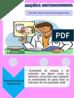 Normas e Padrões Nutricionais 2011.2