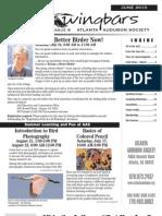 June 2010 Wingbars Newsletter Atlanta Audubon Society