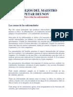 Peter Deunov-Consejos Para Evitar Las Enfermedades