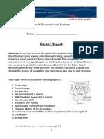 year 10 careers report