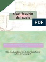 Clasificación Soil Taxonomy
