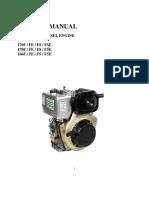 Diesel Engine - 6hp- Manual-222