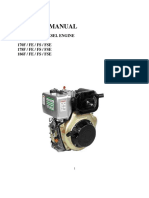 Diesel Engine - 6hp- Manual-222