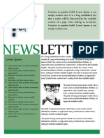 Newsletter Template 11