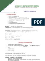 Gapuz Notes Day 1-7