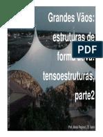GRANDES VÃOS-estruturas de Forma Ativa-tendas - Rev0