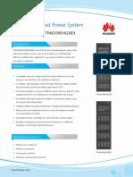 HUAWEI TP48200B-N20B2 TP48200B-N20B3 Indoor Integrated Power System Datasheet