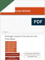 Flow Sensor Jadi Oke