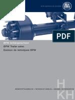 BPW Drum Brakes. BPW-WH-H-KH 3501801 Trailer Axles Drum Brake[1]
