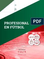 Master Profesional en Futbol