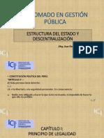 Estructura Del Estado y Descentralización