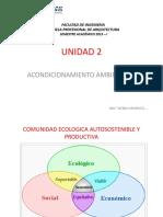 Acondicionamiento Clase 3 Comunidad Autosostenible