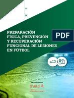 Master Preparación Física, Prevención y Recuperación Funcional de Lesiones en Fútbol