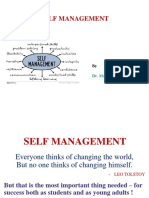 Self Management for Personal Success