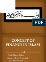 Concept of Finance in Islam