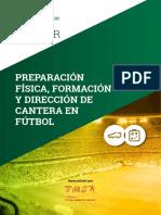 Máster en Preparación Física, Formación y Dirección de Cantera en Fútbol