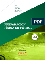 Especialista Universitario en Preparación Física de Fútbol