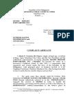 Complaint-Affidavit - MGMM v. EXTREME