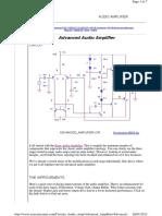 Advanced Ampli e Circuits