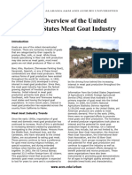 Goat Overview in US