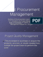 Procurement Management Slides