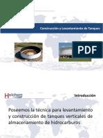 Holchem de Mexico Construccion y Levantamiento Tanques
