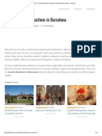 10 Top Tourist Attractions in Barcelona (With Photos & Map) - Touropia