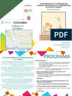Aula Cultura Cartagena. I Jornada Transtornos de la Personalidad. Octubre 2017. Fundación Caja Mediterráneo