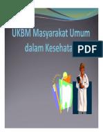 UKBM Masyarakat Umum Dalam Kesehatan Gigi