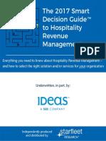 The 2017 Smart Decision Guide to Hospitality Revenue Management - IDeaS