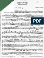 Jindrich Feld - Sonata foru flute and piano