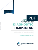 Tajikistan Jobs Diagnostic Strategic Framework for Jobs-Eng