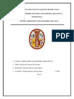 Informe Planta Del Comedor