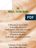 HC 25 - Jesus, Tu És Bom