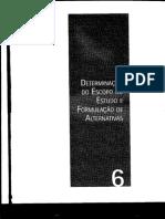 Capítulo 6 - Determinação do Escopo do Estudo e Formulação de Alternativas .pdf