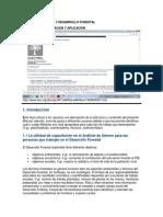 Analisis de Genero y Desarrollo Forestal