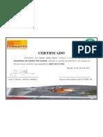 Certificado Gleyson Dantas Bezerra