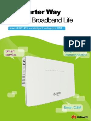 HG8145V Datasheet | I Pv6 | Internet Architecture