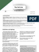 October 2007 Fall Line Newsletter Ocmulgee Audubon Society