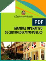 Manual Operativo de Centro Educativo Publico-