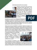 Primera Conferencia BTJ en La Provincia