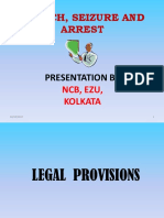 Search, Seizure and Arrest